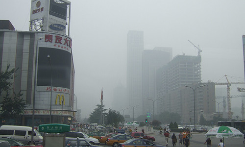 Smog in Bejing