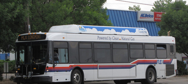 Natural Gas Powered Bus